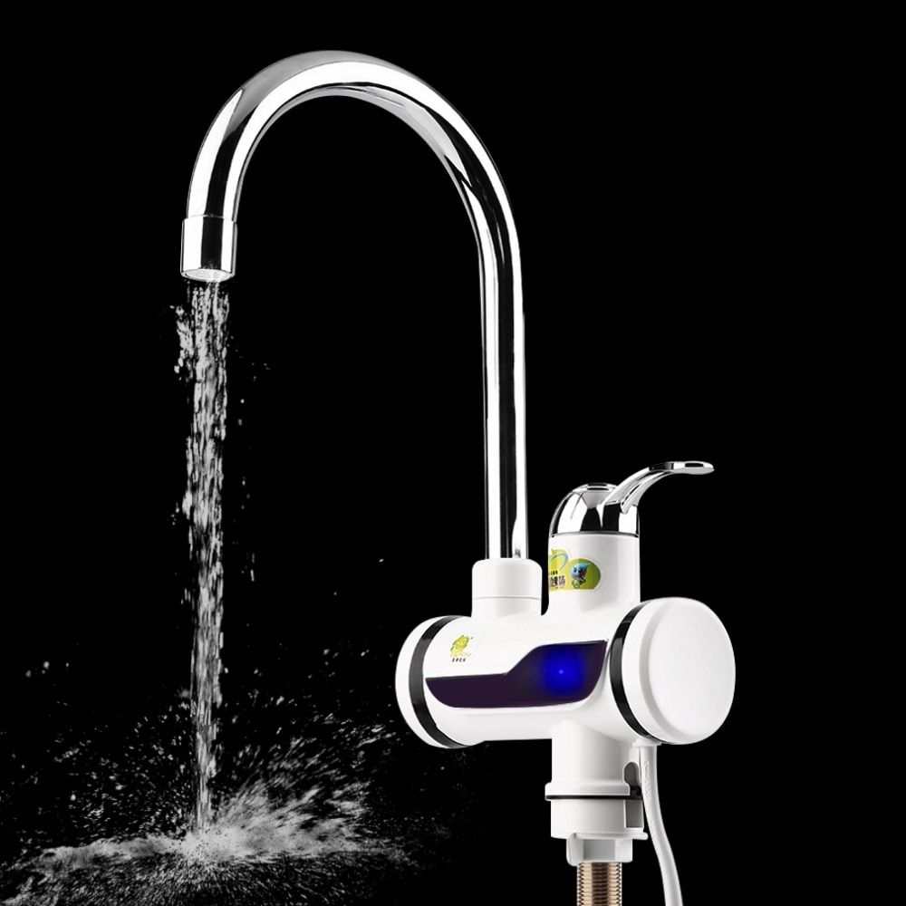Brand New LED Digital Display Instant Heating Electric Water Heater Faucet Tap New Free Shipping Worldwide store