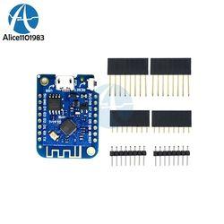 Wemos D1 Mini V3.0 3.0 Sans Fil WIFI Internet de Choses Conseil de développement Basé ESP8266 CH340 CH340G 4 MB Pour Arduino Nodemcu V2