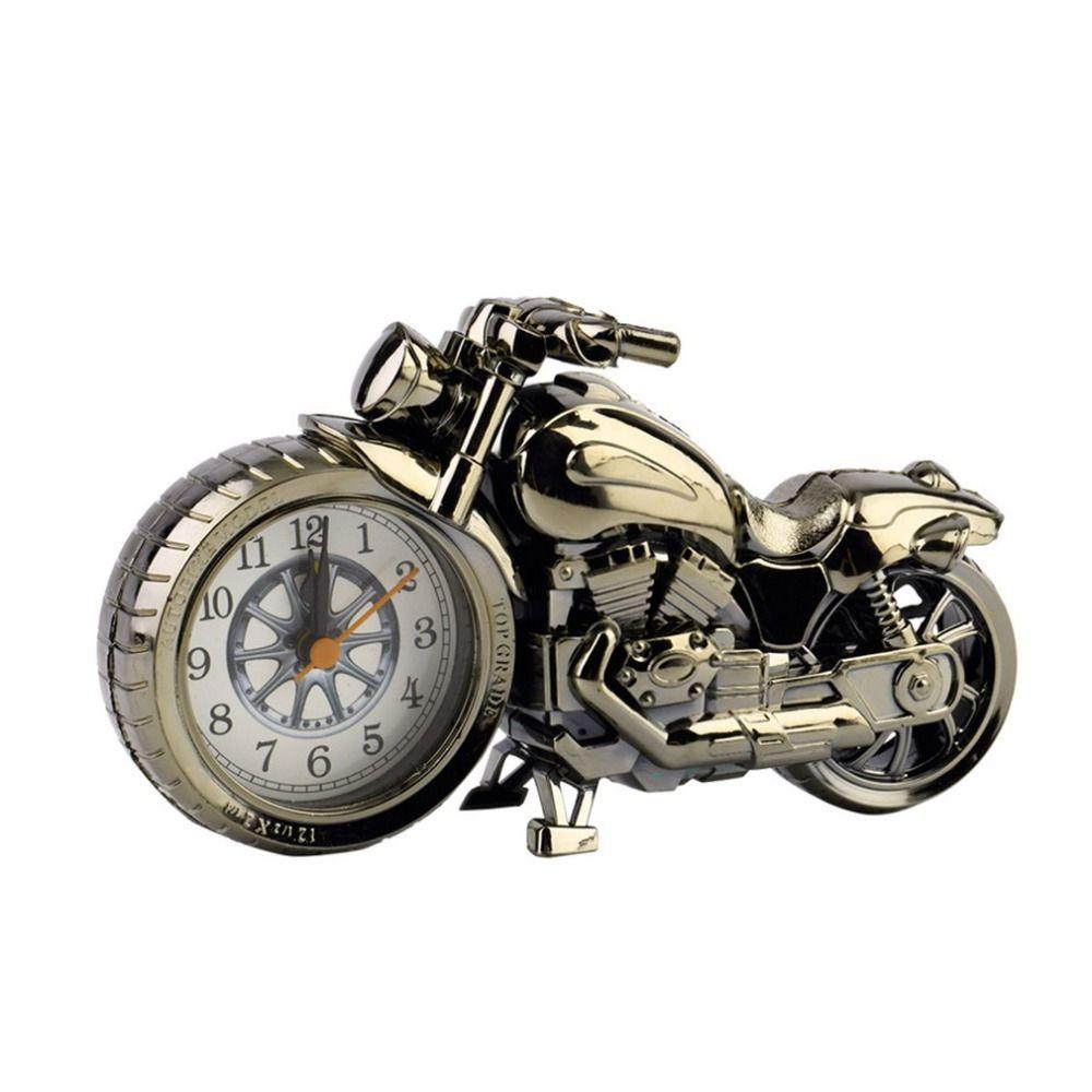 Envío de La Gota Relojes OUTAD Motocicleta Unisex Hombres Mujeres Moto Patrón Reloj Despertador Creativo Regalo de Cumpleaños Promoción Nueva