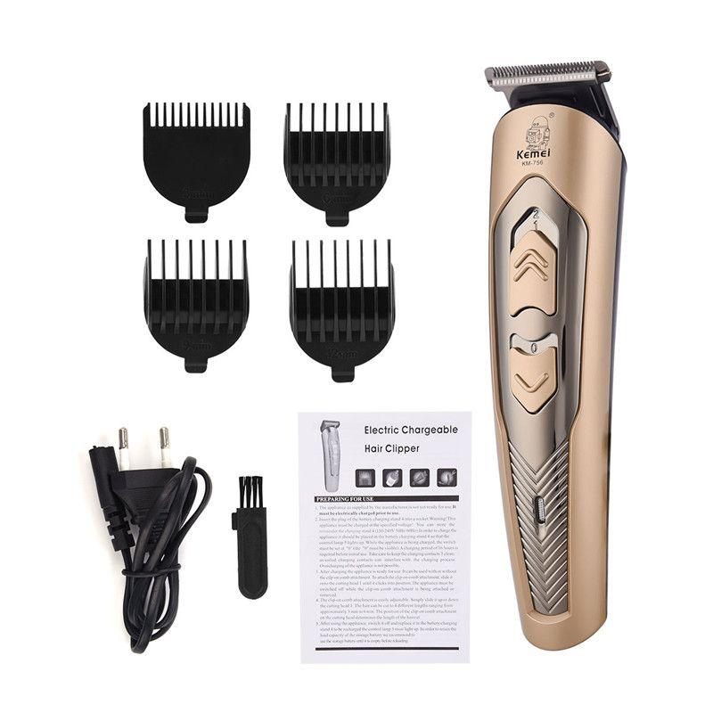 Tondeuse à cheveux électrique pour hommes lame en alliage de titane à réglage fin tondeuse à cheveux réglable longueur de cheveux Rechargeable Machine de coupe de cheveux 42