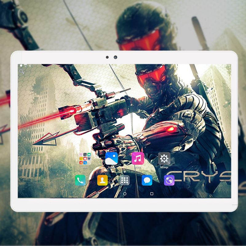 2018 Global 10 inch Android 7.0 tablet pc 4GB+64GB octa core 1920*1200 IPS Dual SIM card wifi Bluetooth 3G Phone Smart phablet