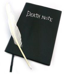 Planificateur Autocollants 2018 Anime Death Note Planificateur Belle Mode Thème Ryuk Cosplay Grande Rédaction Journal Portable Valentines Cadeau