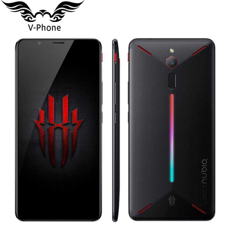 Neue Original ZTE Nubia Rot Magie 4g LTE Handy 6 gb 64 gb Snapdragon 835 6