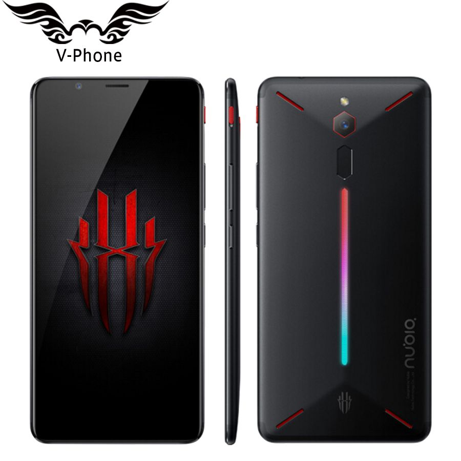ZTE Nubia Red Magic 4G LTE Mobile Phone 8GB RAM 128GB ROM Snapdragon 835 6