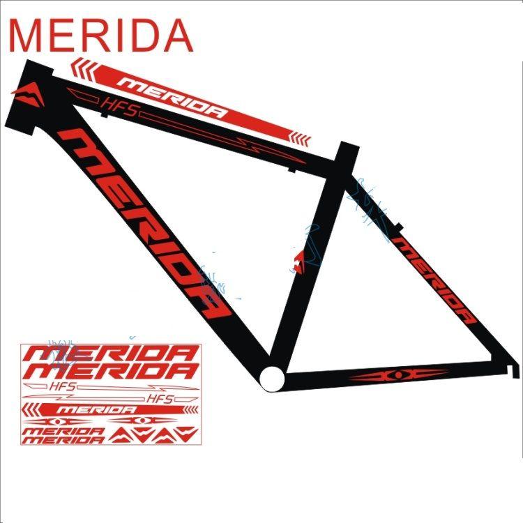Vélo de route vtt cadre réfléchissant décalcomanie pour vélos vélo de montagne protecteur autocollant bicicleta roue fourche vélo réflexe autocollants