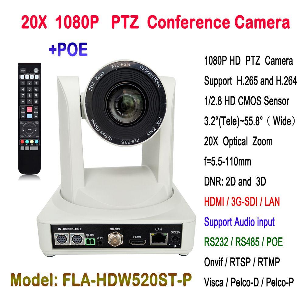 Hohe qualität 2MP 1080P60 HD Onvif POE IP PTZ Kamera 20x Auto fokus mit HDMI 3G-SDI Ausgang
