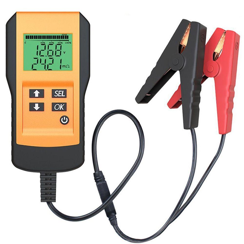 Hintergrundbeleuchtung Batterie Analyzer Lade System Digitale Genaue Auto Tester CCA LCD Display Ohm 12V Spannung Säure Tragbare