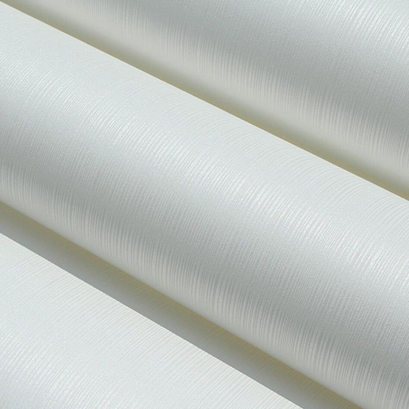 beibehang of wall paper Pure White Modern Simple Plain Solid Stripe Wallpaper papel de parede mural PVC Wall Paper Roll