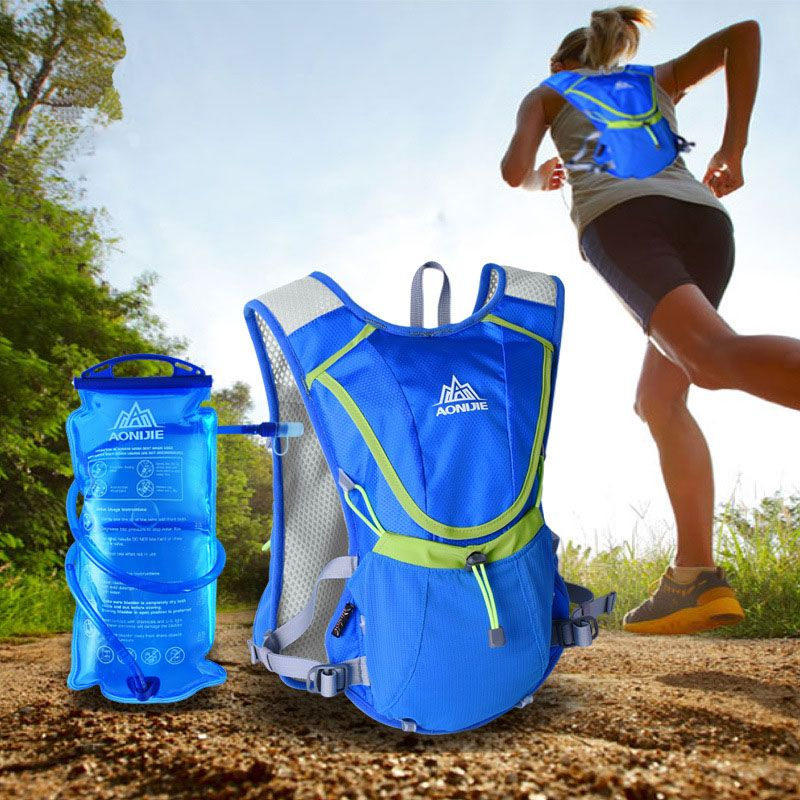 AONIJIE outdoor water bottle water bag 2l hydratation camelback tactical wasser flasche hydration backpack water bag