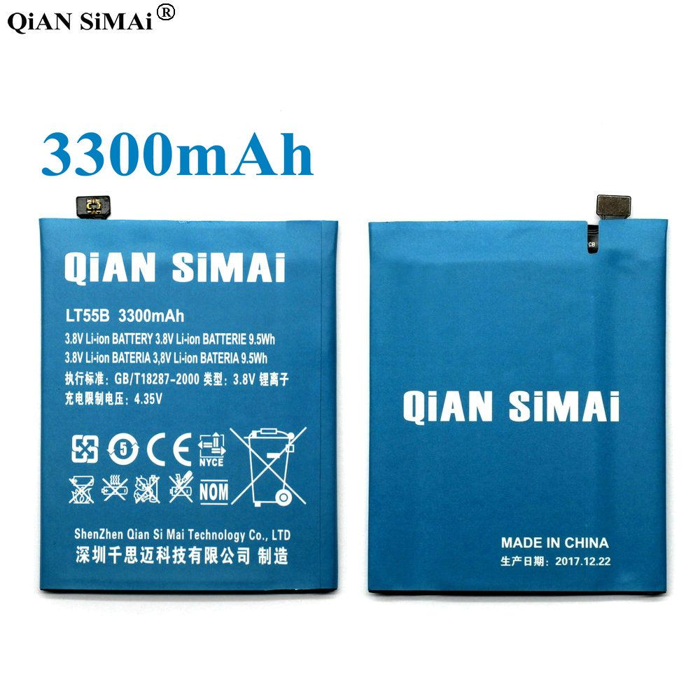 QiAN SiMAi high quality LT55B 3300mAh Battery For Letv Le1 Le 1 X600 one X660 Phone Free Shipping +Tracking Code