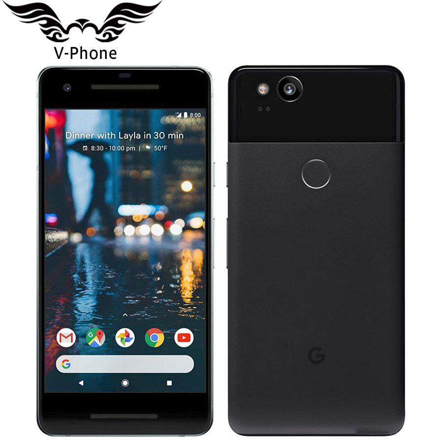 Original Marke NEUE EU Version Google Pixel 2 4G LTE 64 GB 128 GB 5,0 ''Snapdragon 835 Octa core Fingerprint Android handy