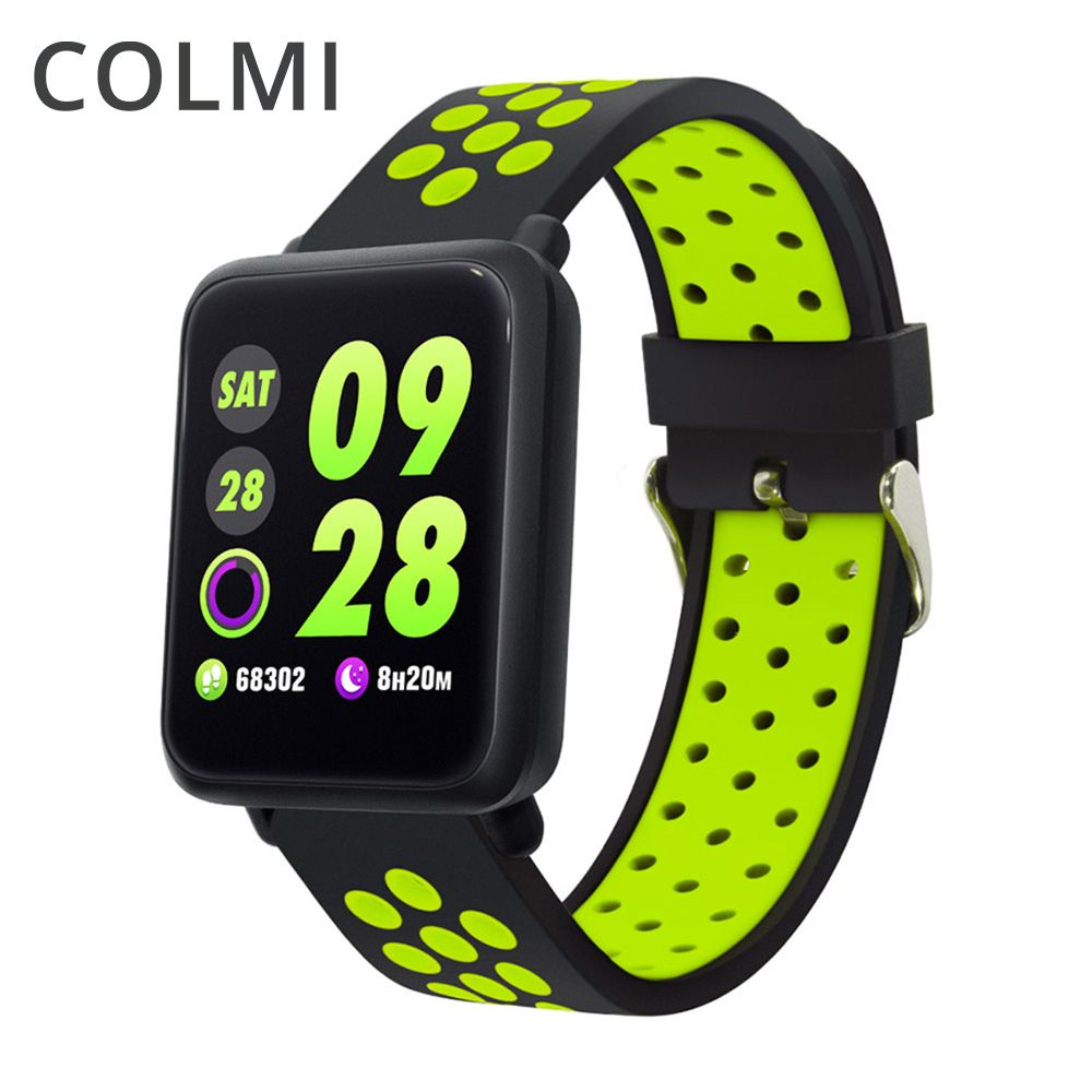 COLMI M28 Smart Watch IP68 Waterproof Heart Rate Blood Pressure Smartwatch for Xiaomi Android IOS Phone LINK Band SPORT 3