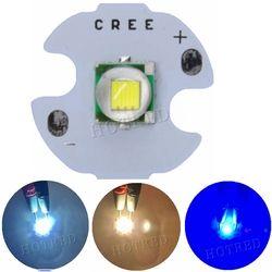 1 шт. CREE XML XM-L T6 светодио дный U2 10 Вт холодный белый теплый белого и синего цвета УФ High Мощность светодио дный эмиттер с 14 мм 16 мм 20 мм 25 мм PCB для ...