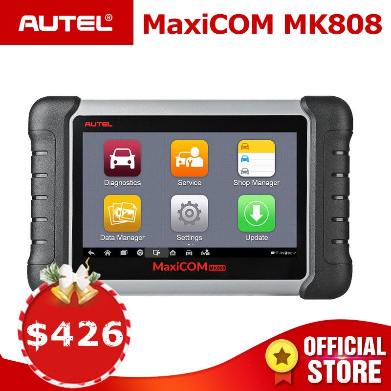 Autel MaxiCOM MK808 OBD2 Scanner Diagnostic Auto Tool OBD 2 Automotive Code Reader Tester ODB2 Key Programmer Immobilizer MX808