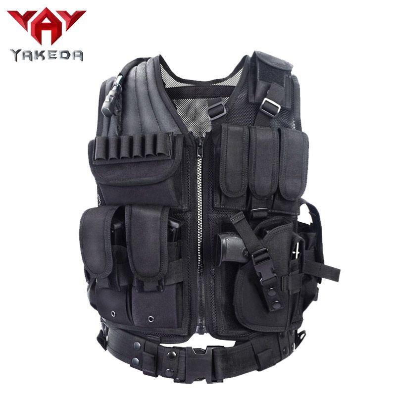 Polizei Militärische Taktische Weste Wargame Körper Rüstung Sportbekleidung Jagd Weste CS Produkte Ausrüstung mit 5 Farben
