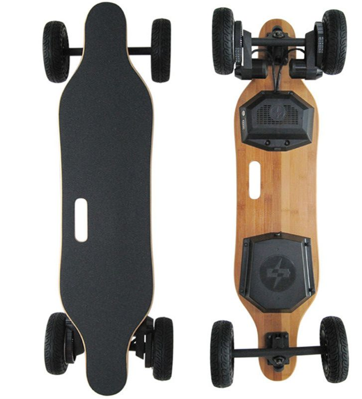 2017 neue 4 Rad SUV Elektrisches Skateboard 1800 Watt 8800 mAh Off Road Longboard Hoverboard Roller Dual Motor mit Fernbedienung Controller