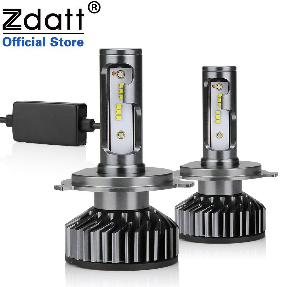 Zdatt H7 LED H4 LED H11 Car Light Headlight Bulb 10000LM H8 H1 HB3 9005 9006 880 H27 H9 100W 6000K 12V 24V Auto HB4 Led