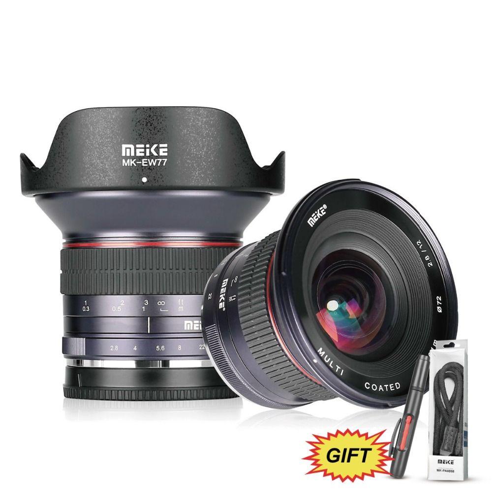 MEKE 12mm f/2,8 Ultra Weitwinkel Feste Linse für Sony E mount A6300 A6000 A6500 A5000 NEX3 /5/6 kamera mit APS-C