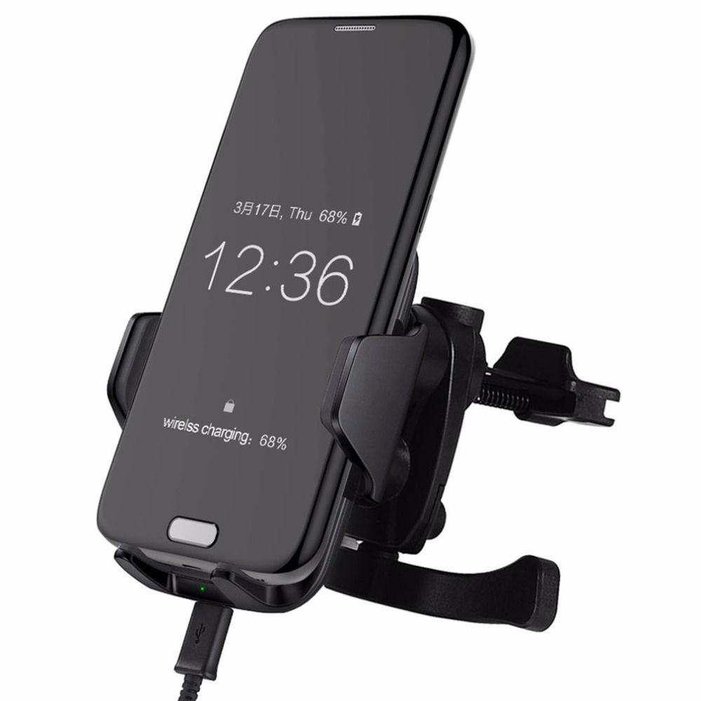 Tragbare 10 Watt Wireless-ladegerät Handys Home Office Schnelle Lade Pad Eingebaute Lüfter Für Samsung F8