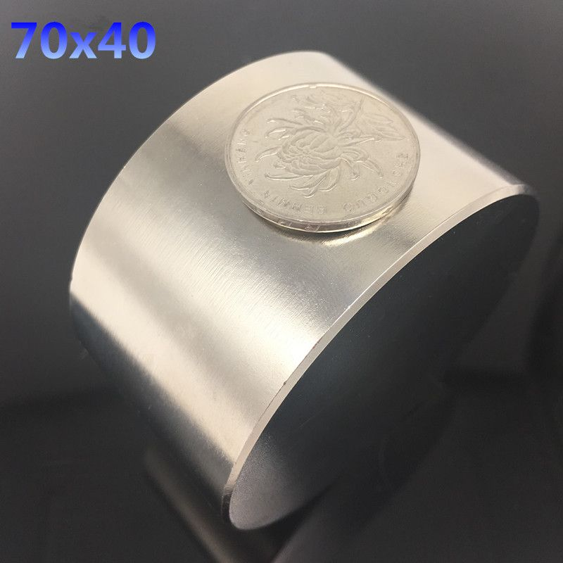 1 шт. неодимовый магнит N52 D 70x40 мм супер сильный Круглый магнит редкоземельных NdFeB 70*40 мм сильным постоянные мощные магнитные
