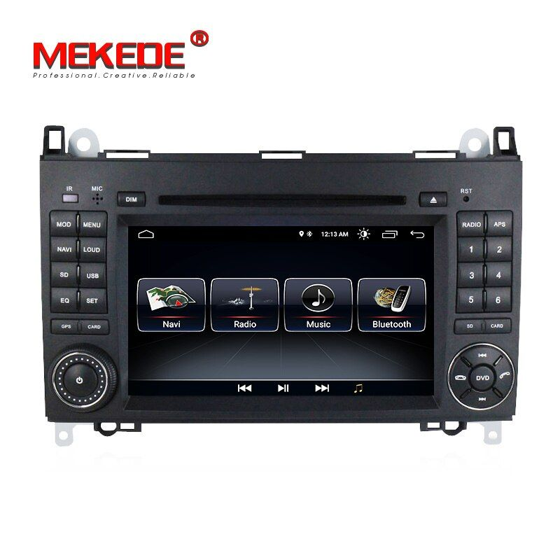 Free shipping! Android 8.0 system car radio car gps dvd for Mercedes/benz/B200/A160/A-class W169/B-class W245/vito/sprinter w906