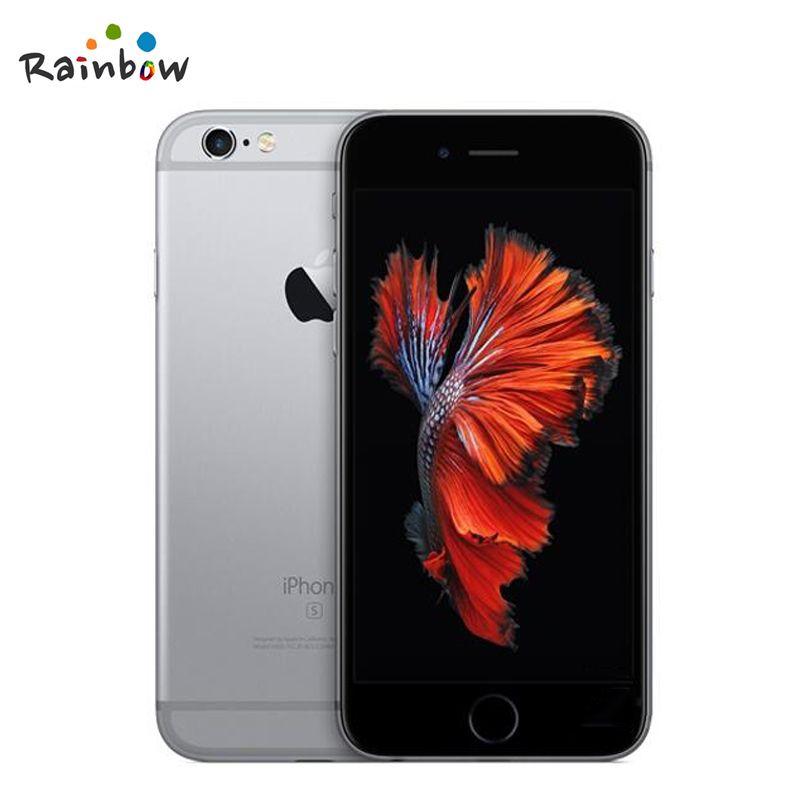 Original Apple iPhone 6s 4G LTE IOS Cellphone Dual Core 2GB RAM 4.7 inch Screen with 12MP Camera