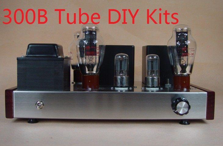 2017 Nobsound limited berserk warm sound 300B directly heated Tube amplifier power amplifier DIY Kits 7W+7W