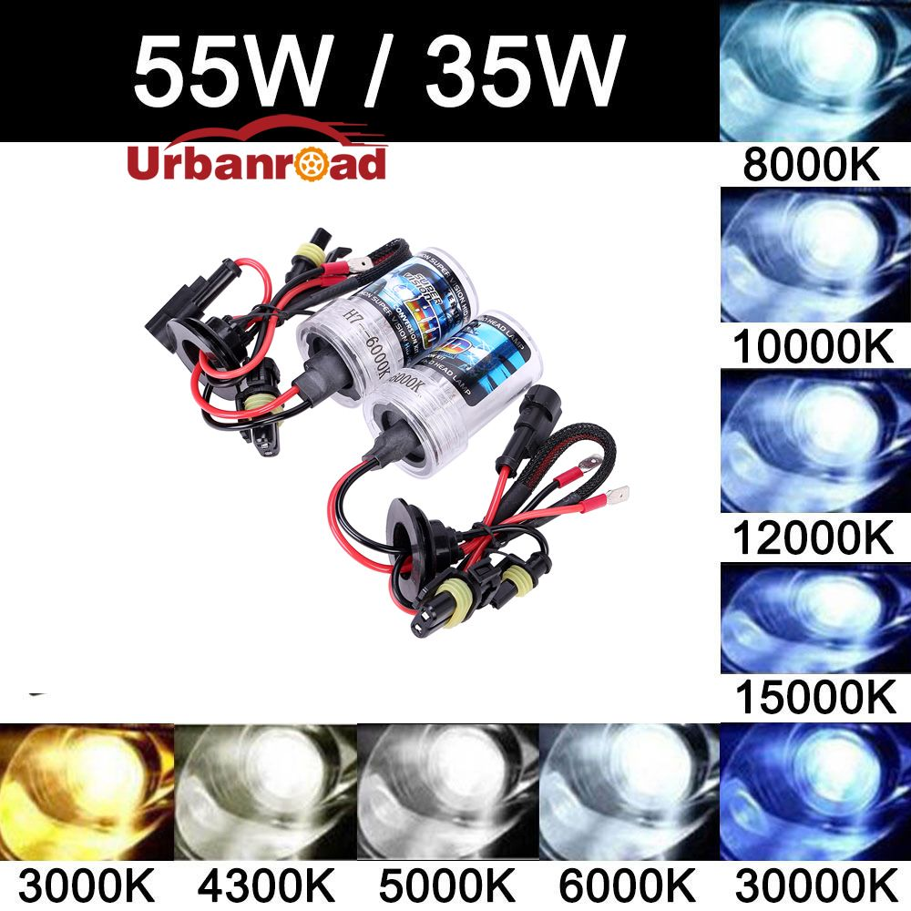 2x комплект ксенона h7 55 Вт 6000 К 8000 К ксеноновая лампа H4 Hb4 6000 К 55 Вт Hi lo Высокая Низкая луч 35 Вт H7 H1 H3 H8 H9 H11 9005 HB3 9006 10000 К