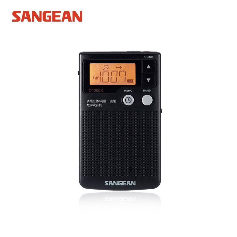 SANGEAN DT-200X FM-Stéréo/SUIS Audio Numérique Récepteur radio stéréo radio