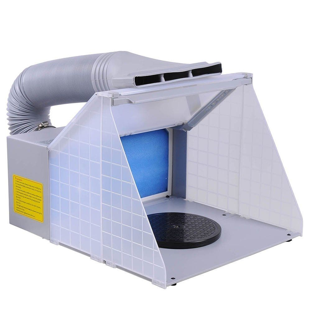 Colopaint Airbrush Brand Portable Hobby Airbrush Spray Booth For Painting All Art, Cake, Craft, Hobby, Nail T-shirts & More