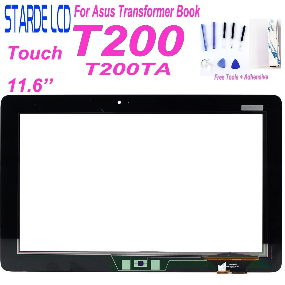 STARDE remplacement tactile pour Asus Transformer Book T200TA T200 écran tactile numériseur panneau verre capteur 11.6 noir