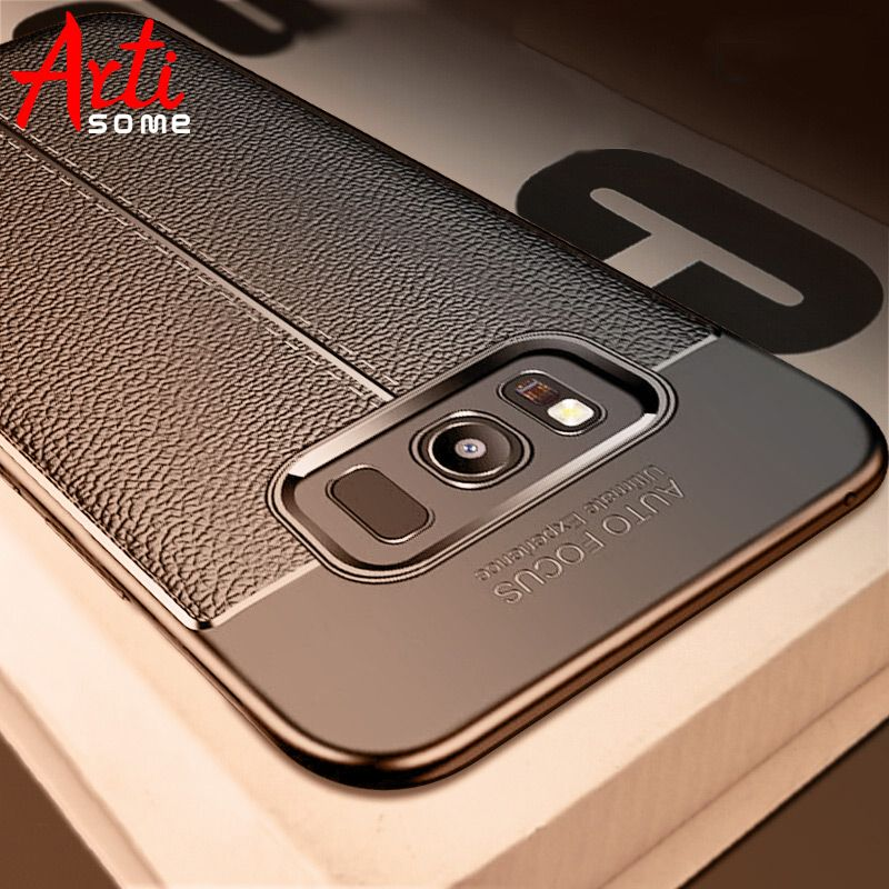 Carbon Case For Samsung Galaxy Note 8 9 S8 Plus Cover Leather TPU Soft Case For Samsung S8 S7 Edge A3 A5 A7 2017 J5 J7 2016 Case
