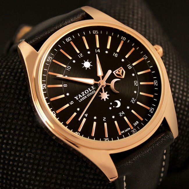 Yazole wrristwatch наручные часы Для мужчин 2018 лучший бренд класса люкс известный мужской часы кварцевые часы hodinky кварцевые часы Relogio