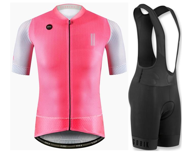 Top quality 2018 Fireworks COOL bike clothes short sleeve cycling wear for men MTB road cycling Jersey set 4D gel pad MIX SIZE