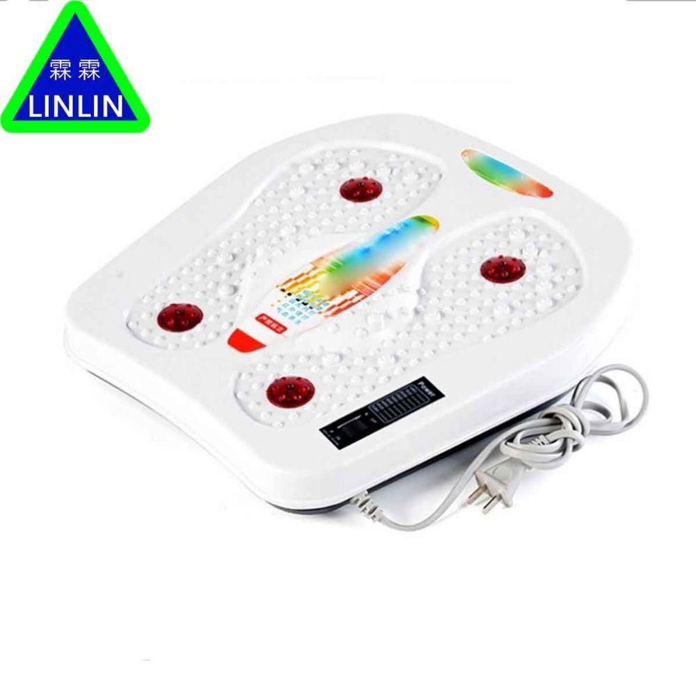 LINLIN infrarot-reflexzonenmassage fuß-massagegerät elektrische maschine. Automatische roller füße massager sorgfalt durchblutung therapie heizung SPA