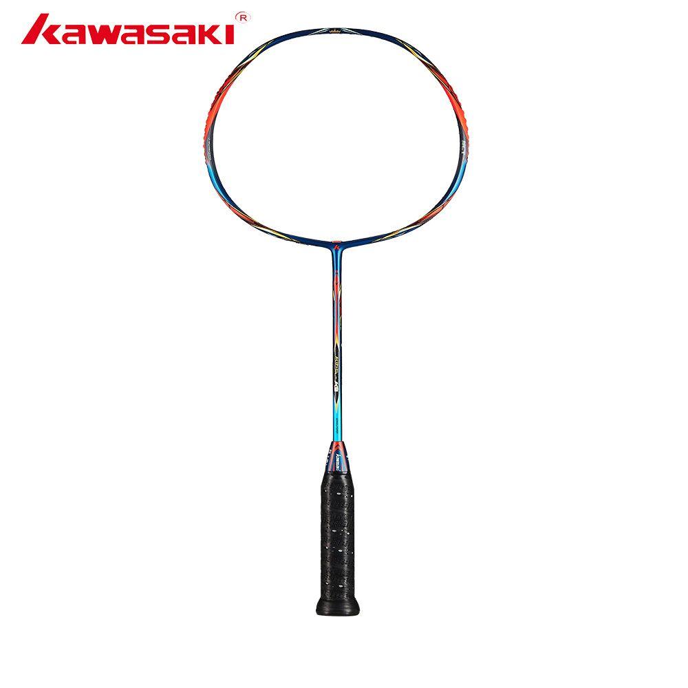 2019 Kawasaki Original Badminton Schläger König K9 Alle-um Typ T Beitreten Power Carbon Faser Schläger Für Zwischen Spieler