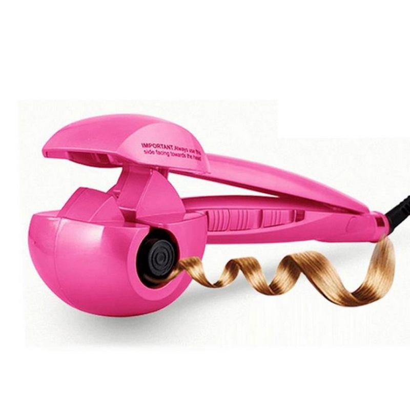 110-240 V Jet de Vapeur Automatique Cheveux Bigoudi Numérique cheveux styler bigoudis chaude cheveux soins Des cheveux coiffure fer à friser UE NOUS Plug
