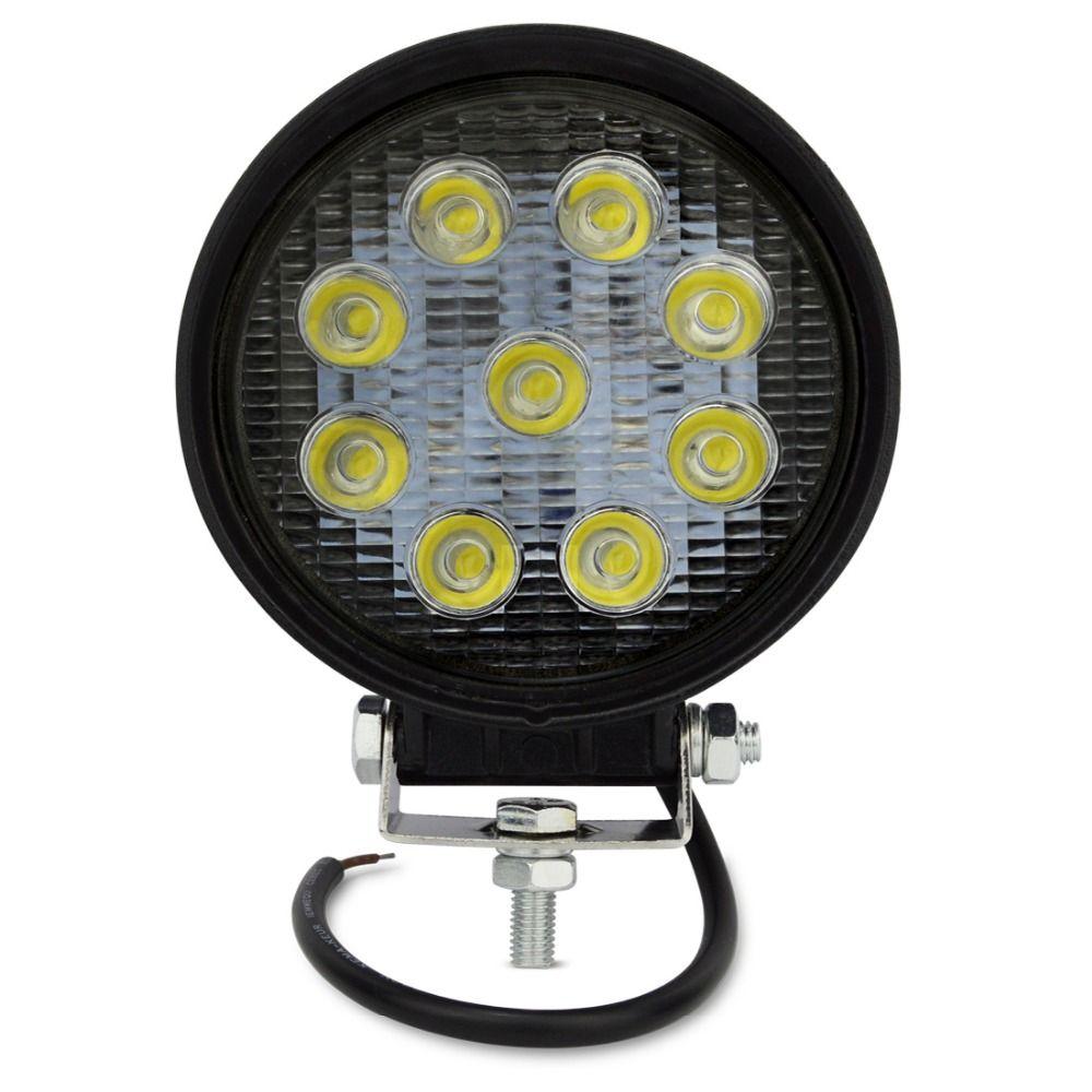 Safego 27 w led light work lamp offroad 4x4 ATV Bateau de voiture camions tracteur Brouillard conduite lampe 4 pouces 12 v 24 v Led Feux de travail