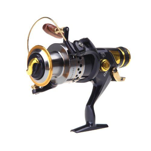 Good deal 9+1BB Ball Bearings Left/Right Interchangeable Collapsible Handle Fishing Spinning Reel SW60 5.2:1