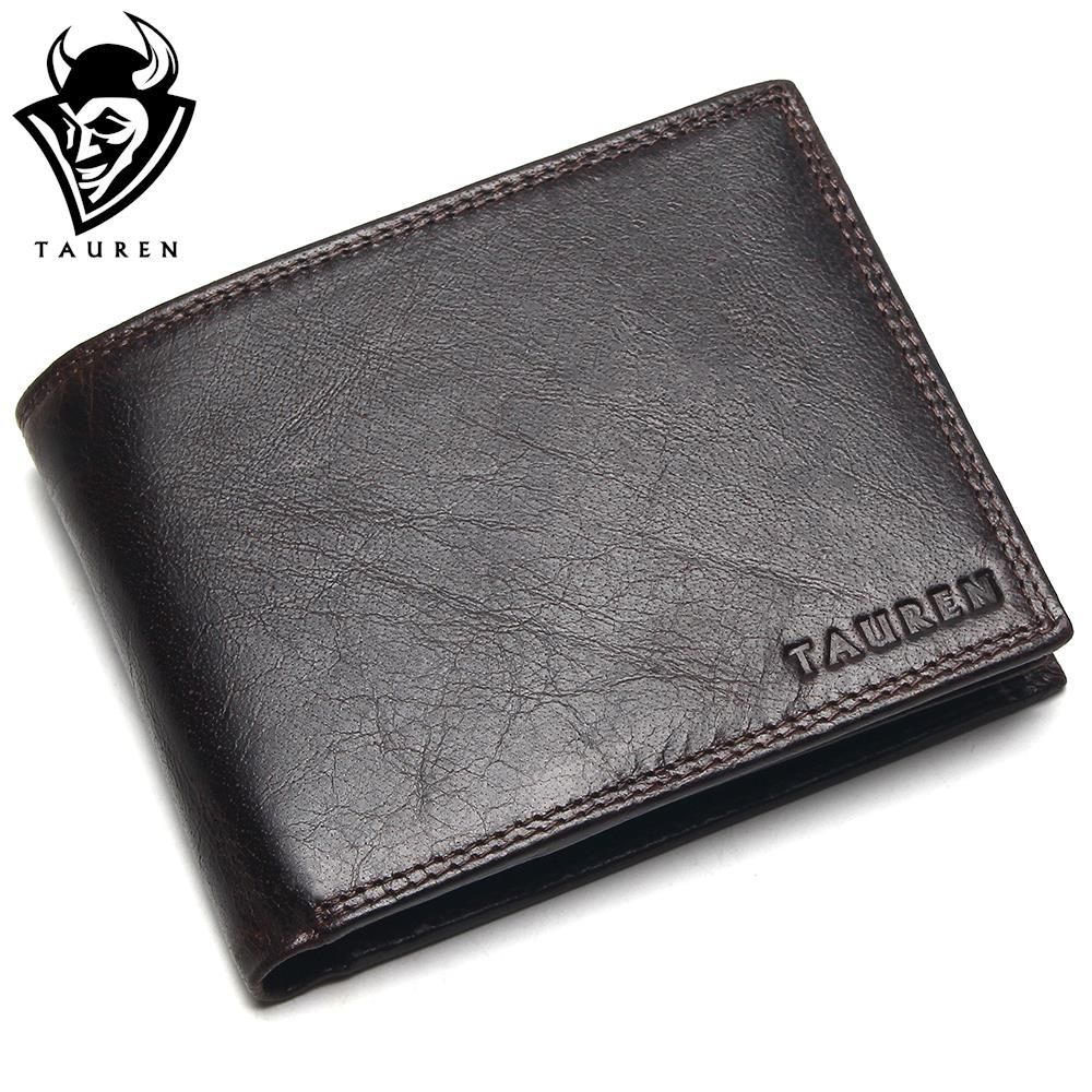 Small Vintage Wallet Brand High <font><b>Quality</b></font> Vintage Designer 100% Genuine Crazy Horse Cowhide Leather Men Short Coin Purse Wallet