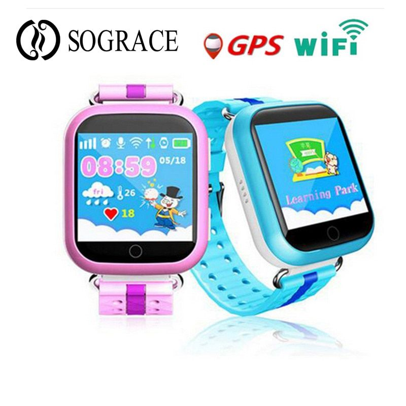 Hot 2018 GPS Wifi Smart Watch Q750 Q100 Baby Watch With SOS Call Location Device Tracker For Kid Safe PK Q50 Q90 Free Shipping
