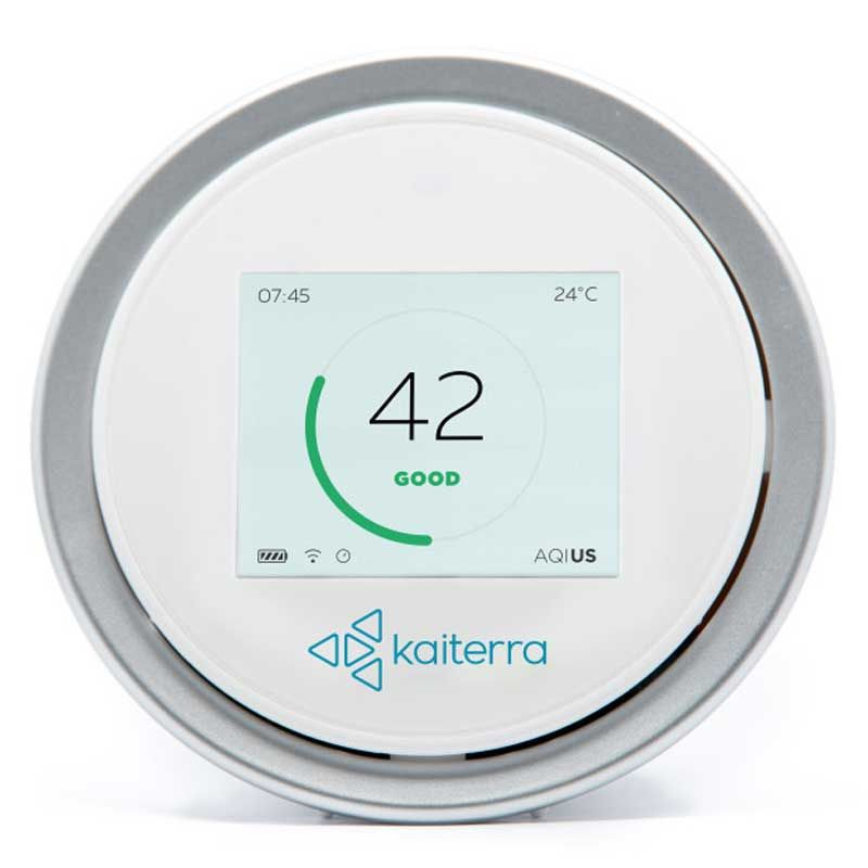 New 2nd generation Smart Air Quality Monitor, Laser Egg, highly sensitive mobile app, Palm-Sized Solution Monitoring