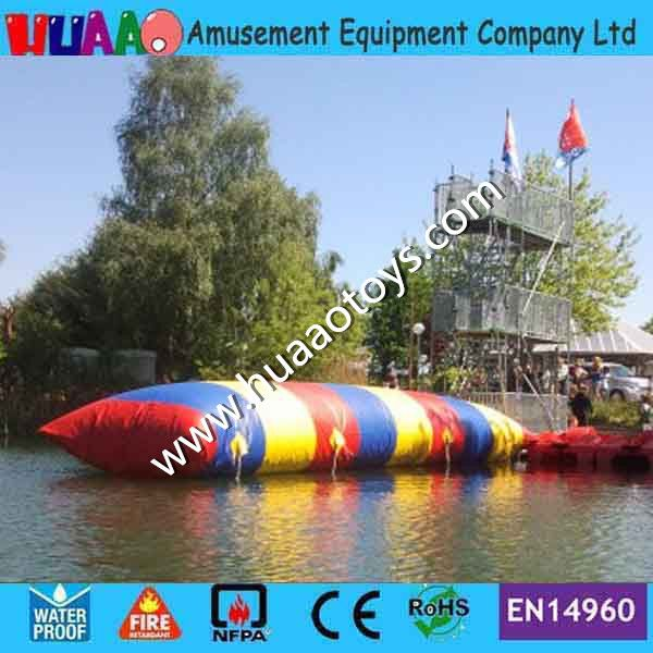 2017 10*3m Inflatable Water Blob Jump Inflatable Water Blob for Sale with free shipping by FEDEX/DHL