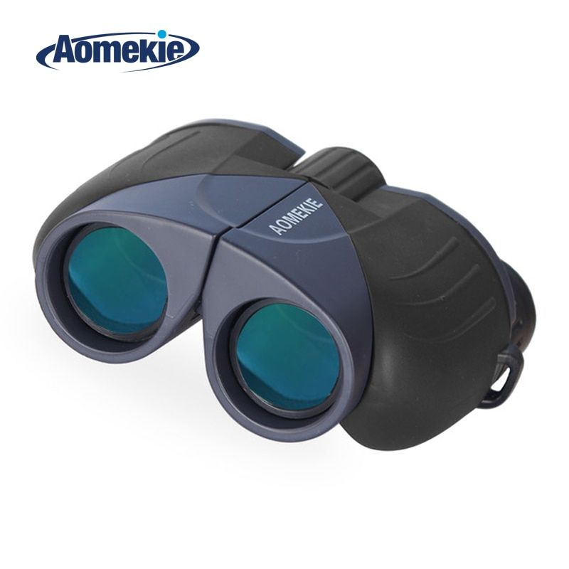 AOMEKIE 10X25 Binoculars Professional HD <font><b>Wide</b></font> Field Vision FMC Optical Lens Telescope for Outdoor Hunting Camping Pocket Size