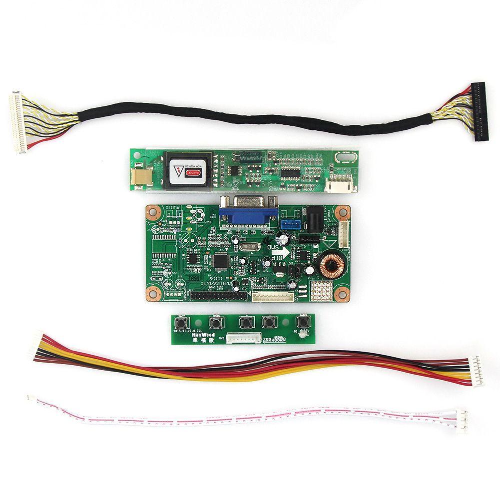LCD/LED Control Treiberplatine (VGA) Für LTN154XA-L01 CLAA154WB05AN 1280x800 LVDS Monitor Wiederverwendung Laptop