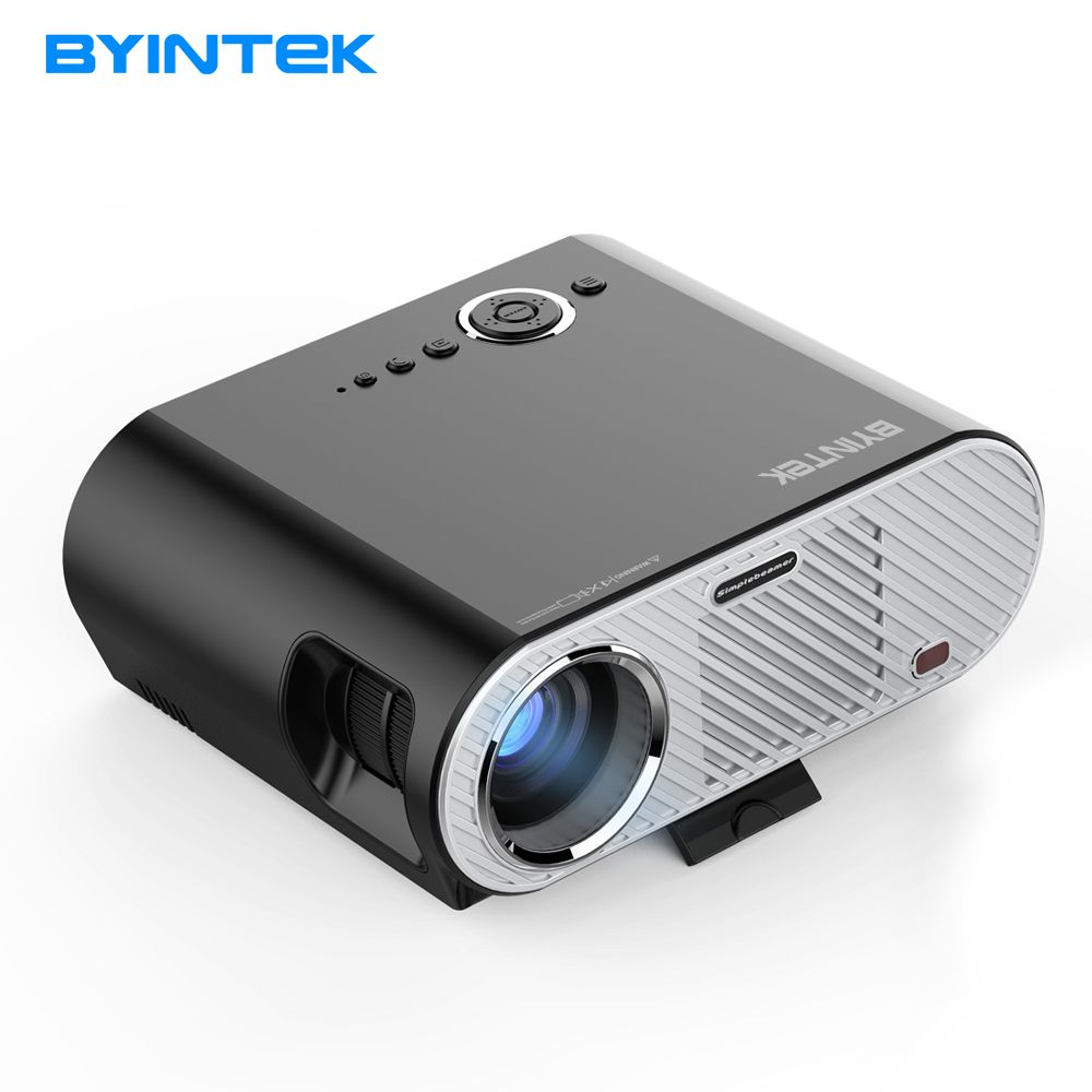 BYINTEK projector GP90UP 1280x800 Smart Android Wifi Cinema USB Full HD Video WXGA LED HDMI VGA 1080P Home Theater Projector