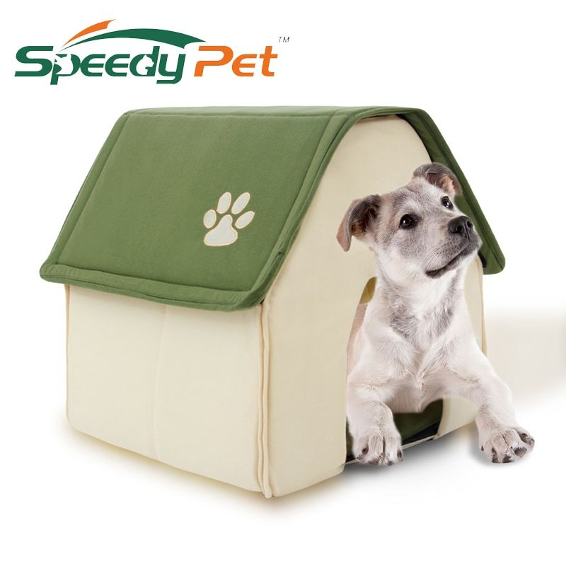 2017 New Product Dog Bed Soft Dog Kennel Dog <font><b>House</b></font> For Pets Cat Puppy Home Shape Animals <font><b>House</b></font> Products For Animal Removable