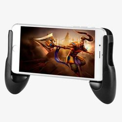 Phone Game Mount Bracket Gamepad Hand Grip Clip Stand For iphone X 8 7 Samsung S8 Plus Xiaomi 6 Huawei P10 Gaming Handle Holder