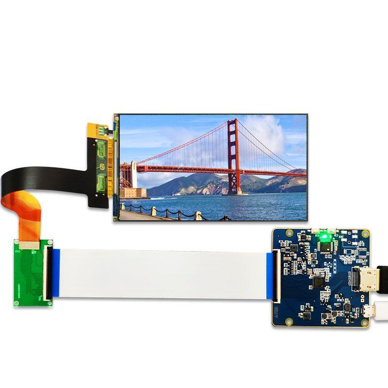 MIPI affichage 5.5 pouces 2 K LCD module 2560x1440 LS055R1SX03 lumière durcissement affichage photon écran pour vr lcd 3d imprimante projecteur
