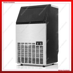 HZB45/65/80 Electric Automatic Cube ice maker Commercial or Home use ice making machine 220V 110V 45KG 65KG 90KG/24H Ice Maker